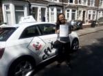 Celeste 21/06/2017 passed with cf14 School Of Motoring