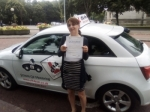 Alena 13/07/2017 passed with cf14 School Of Motoring