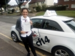 Elen 07.09.17 passed with cf14 School Of Motoring