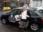 Miriam 10.02.18 passed with cf14 School Of Motoring