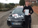 James 20.02.18 passed with cf14 School Of Motoring