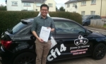 Jeffrey passed with cf14 School Of Motoring