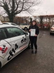 Jess 14.02.18 passed with cf14 School Of Motoring