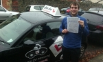 Joe passed with cf14 School Of Motoring