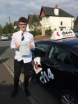 Joe 11/05/2017 passed with cf14 School Of Motoring
