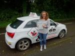 Kate 21/08/17 passed with cf14 School Of Motoring