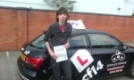 Kevin passed with cf14 School Of Motoring