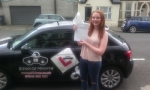 Kirsty passed with cf14 School Of Motoring