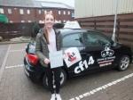 Lauren 10.03.18 passed with cf14 School Of Motoring