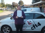 Leonie 06.10.17 passed with cf14 School Of Motoring