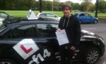 Lewis passed with cf14 School Of Motoring