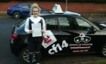 Lily-Beth passed with cf14 School Of Motoring