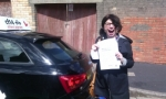 Lisa passed with cf14 School Of Motoring