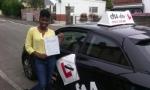 Elizabeth passed with cf14 School Of Motoring