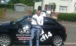 Luke passed with cf14 School Of Motoring