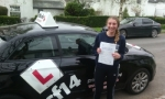 Manon passed with cf14 School Of Motoring