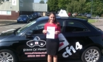 Claudia passed with cf14 School Of Motoring