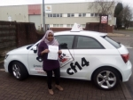 Mashoudha 25/02/2017 passed with cf14 School Of Motoring