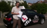 Murat passed with cf14 School Of Motoring