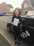 Natasha 17.10.17 passed with cf14 School Of Motoring