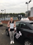 Olivia 23/01/2017 passed with cf14 School Of Motoring