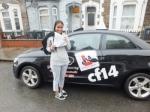 Ridwana 14.02.18 passed with cf14 School Of Motoring