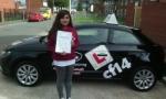 Rima passed with cf14 School Of Motoring