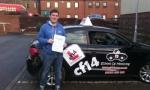 Robert passed with cf14 School Of Motoring