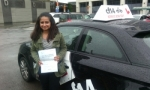 Rubab passed with cf14 School Of Motoring