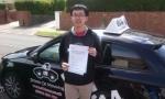 Sam passed with cf14 School Of Motoring