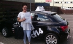 Samantha passed with cf14 School Of Motoring