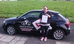 Sarah's Only Gone & Done it! passed with cf14 School Of Motoring