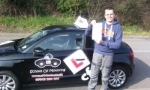 Shahin passed with cf14 School Of Motoring