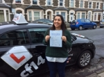 Lila passed with cf14 School Of Motoring
