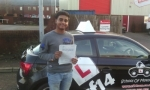 Rayhan passed with cf14 School Of Motoring
