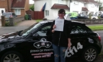 Stephanie passed with cf14 School Of Motoring