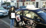 Sumayra passed with cf14 School Of Motoring