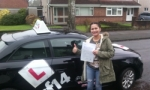 Tanisha passed with cf14 School Of Motoring