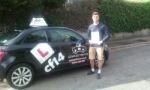 Tomas passed with cf14 School Of Motoring
