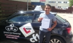 Vishal passed with cf14 School Of Motoring