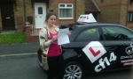 Jade passed with cf14 School Of Motoring