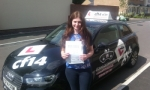 Zena passed with cf14 School Of Motoring