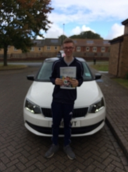 IN A RAIN SOAKED SCARBOROUGH KOREY PASSED HIS TEST thatacute;s unusual regards Simon
