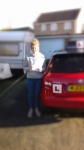 SAMANTHA DENNIS passed with Simon Hartley Driver Training