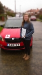 HELENA M passed with Simon Hartley Driver Training