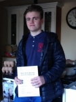 MORGAN GRUNWELL passed with Simon Hartley Driver Training