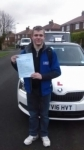 CALLUM JENKINS passed with Simon Hartley Driver Training