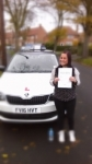 EMMA AINSWORTH passed with Simon Hartley Driver Training