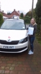 EMMA CRITCHETT passed with Simon Hartley Driver Training