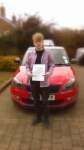 CONOR LONGTHORNE passed with Simon Hartley Driver Training